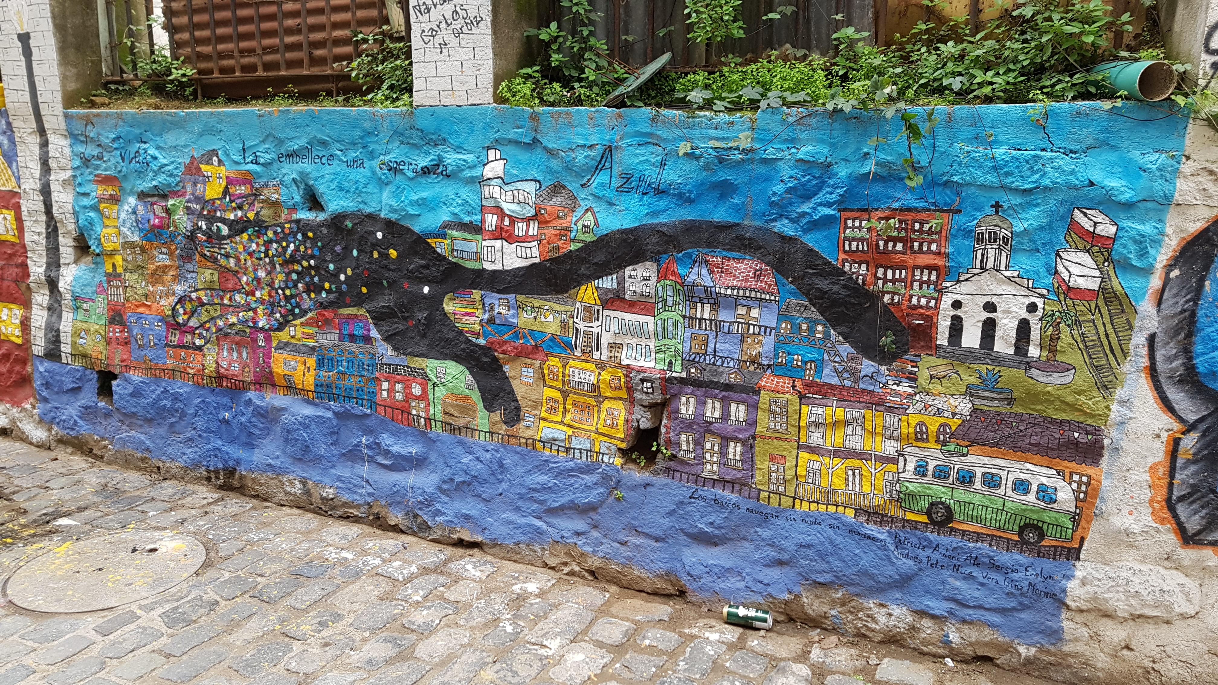 Valparaiso, giorno 3