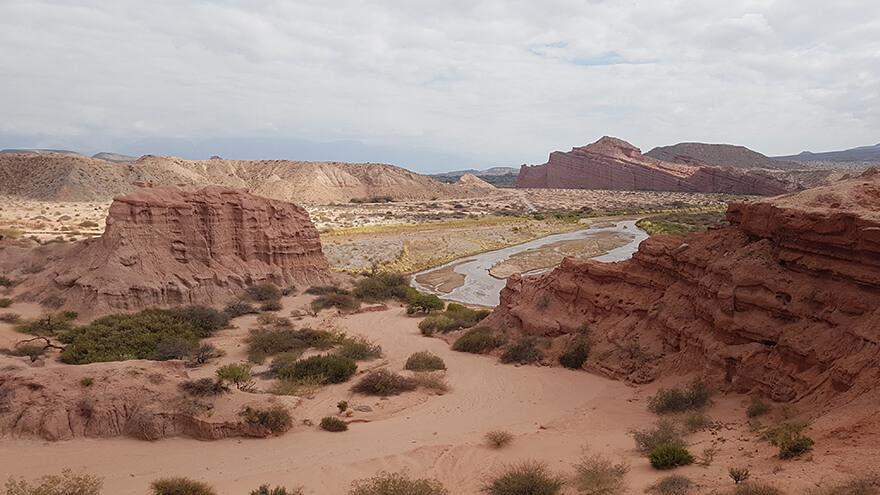 Quebrada de Cafayate, giorno 24