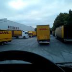 Chaos im Logistik Bereich