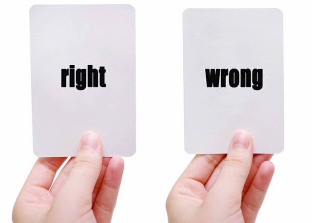 Image result for who's right who's wrong