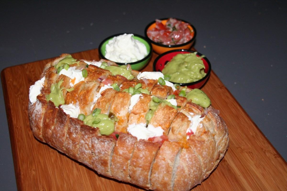 Breekbrood Nacho-style