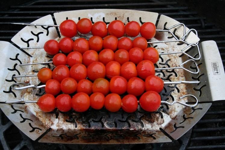 Spies cherry tomaat - BBQ