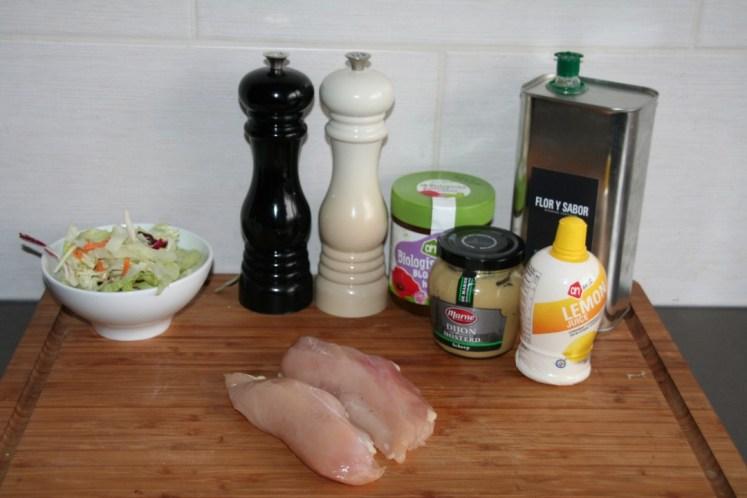 Honing mosterd kipspies - Ingredienten