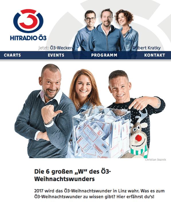 Ö3 Homepage