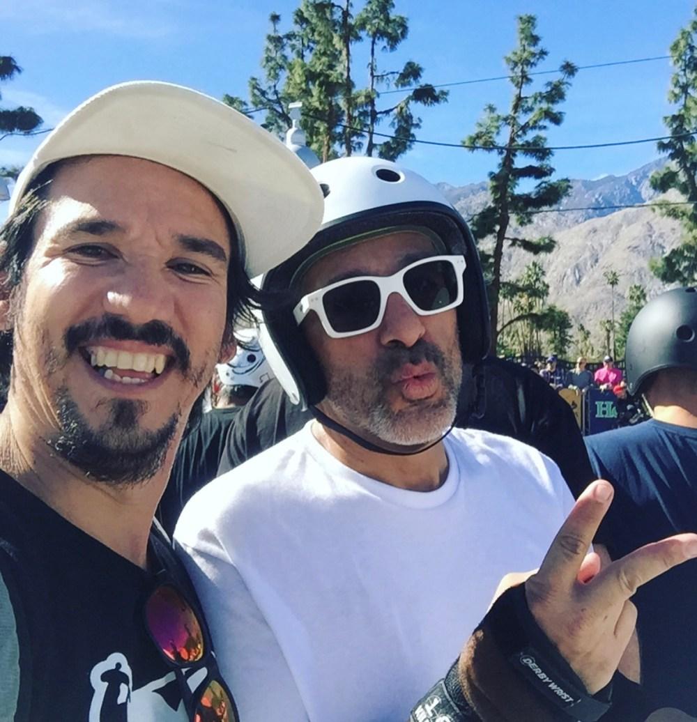 Tony Del Rio and Eddie Elguera