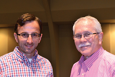 The ministry transition at Highland Park Christian Church was unconventional in a few respects: (1) it took quite a while to execute . . . about four years, and (2) Dave Dunson, right, transitioned from being senior minister to pastoral care minister, while Brian Jennings went from being youth minister to lead minister.