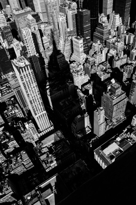 Empire State Building Shadow, New York City