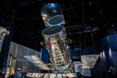 Hubble Space Telescope, Kennedy Space Center, Merritt Island, Florida, USA