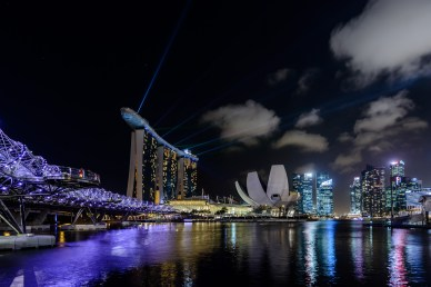 Marina Bay Sands and ArtScience Museum, Singapore