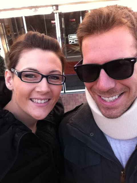 Ryan and his wife Jenn.