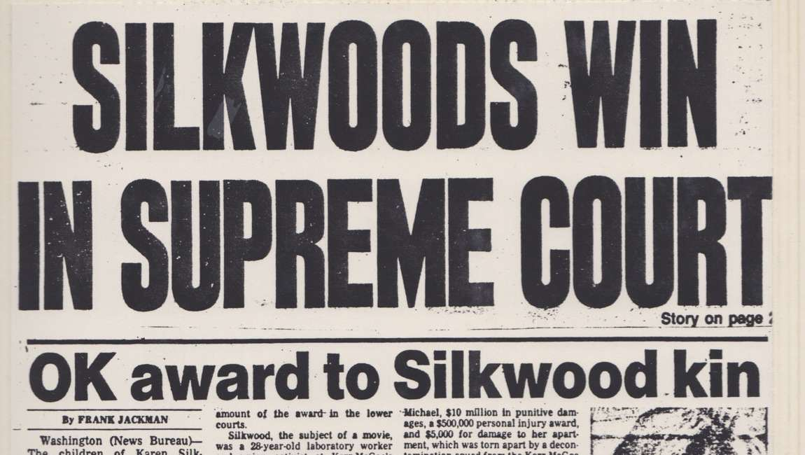 Silkwood Win Cover Story