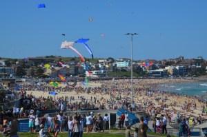 Kite fair at Bondi