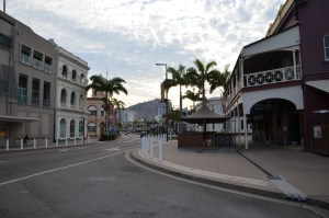 Modern view of colonial architecture in Townsville