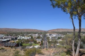 View of Alice Springs from ANZAC Hill