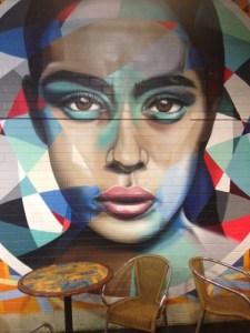 Adelaide Market Art - face