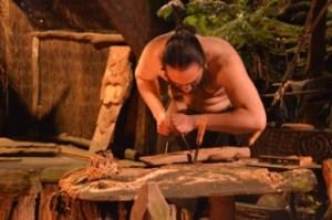 Maori woodcarver