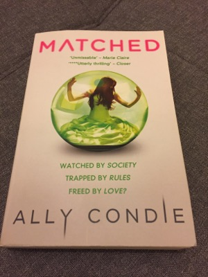 Young Adult (YA) Fiction Book Review – Matched, Ally Condie