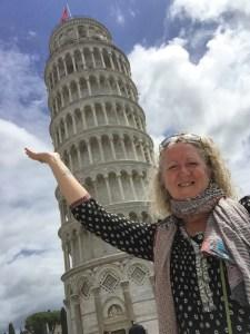 CAW Pisa selfie