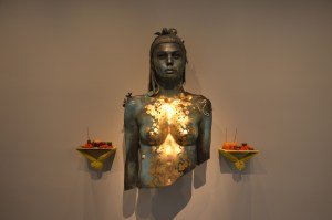 Damien Hirst - Gold painted sculpture