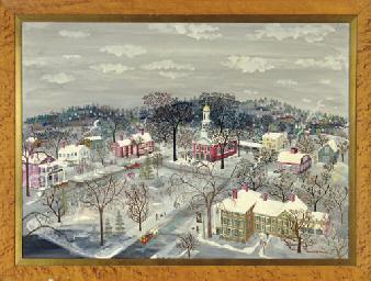 Maxwell Mays American B 1918 Winter Wonderland
