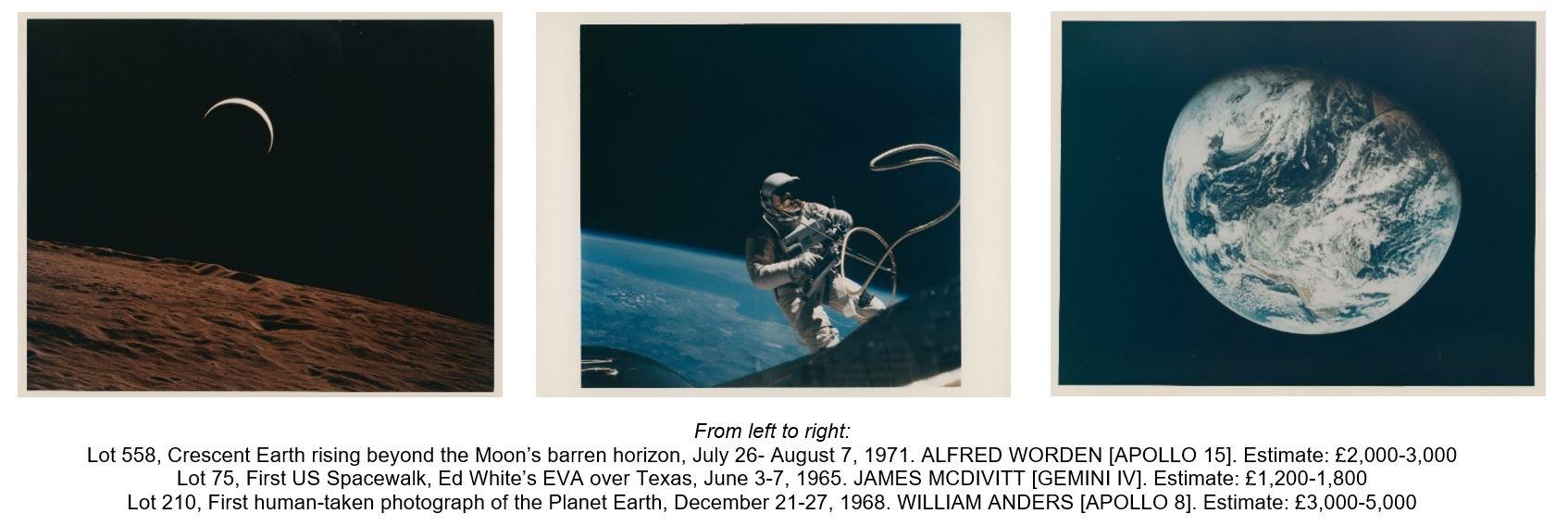 سيتم عرض صور نادرة لوكالة ناسا بالمزاد العلني عبر الإنترنت