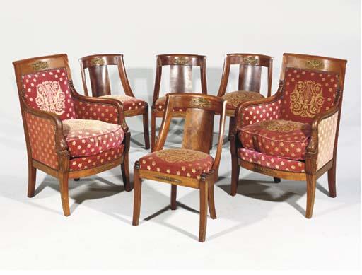 mobilier de salon de style restauration