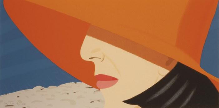 Alex Katz, Ada Orange Hat