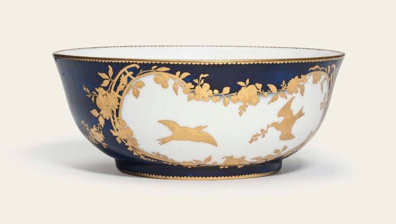 Porcelain Marks Gold