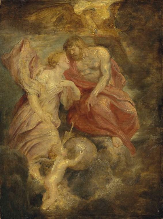 Image result for venus jupiter painting