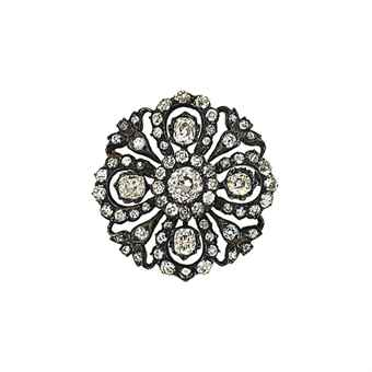 A late 19th century diamond brooch