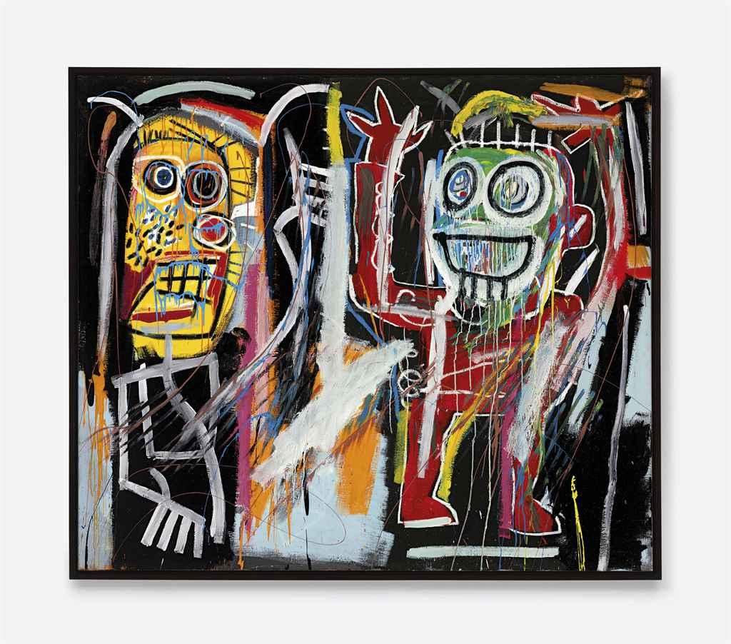 Jean Michel Basquiat Dustheads