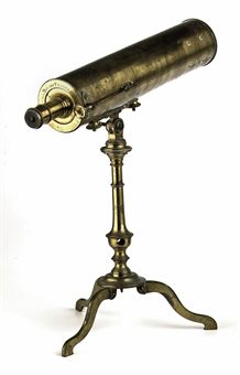 A DUTCH BRASS TELESCOPE BY JAN VAN DER BILDT 1709 1791