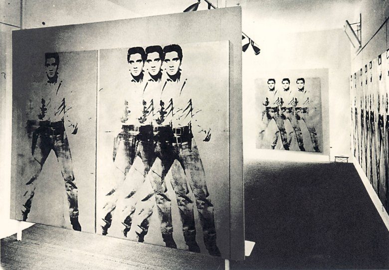Andy Warhol's Double Elvis [Ferus Type], 1963 | Christie's