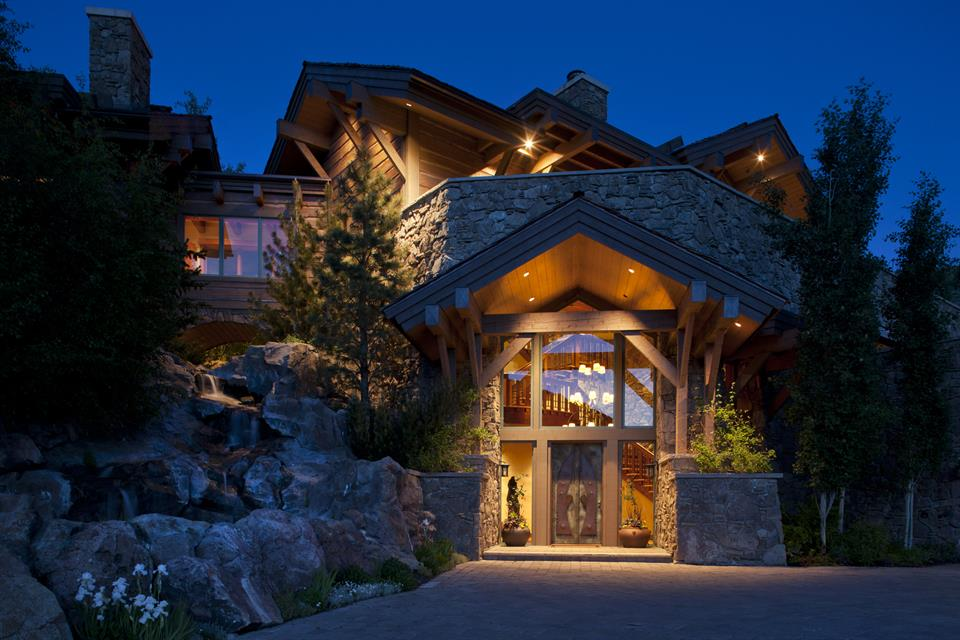 <b>US$16,900,000<br/>5 Bedrooms, 17,500 sq. ft.</b><br/>Serenity Lodge in Sun Valley, Idaho, provides a quiet retreat in the hills just north of Ketchum, Idaho. This elevated property boasts 360-degree mountain views and has been constructed with an unrivaled level of luxury. The residence features intimate spaces with beamed ceilings, custom millwork and cabinetry, reclaimed oak floors, a Schindler elevator, and Loewen windows and doors.