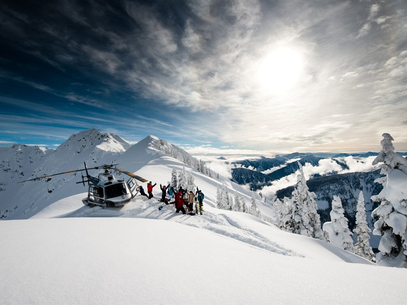Revelstoke is the only ski resort in the world to offer lift, cat, heli, and backcountry skiing