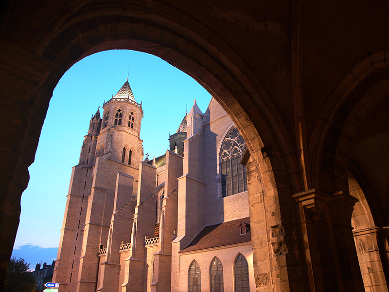 Gothic-Saint-Bénigne-Cathedral-Dijon-France