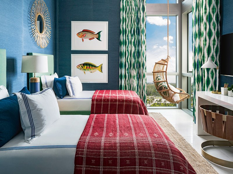 This Childrenu0027s Bedroom, In A Vacation Home In Grand Cayman, Was Designed  By Los