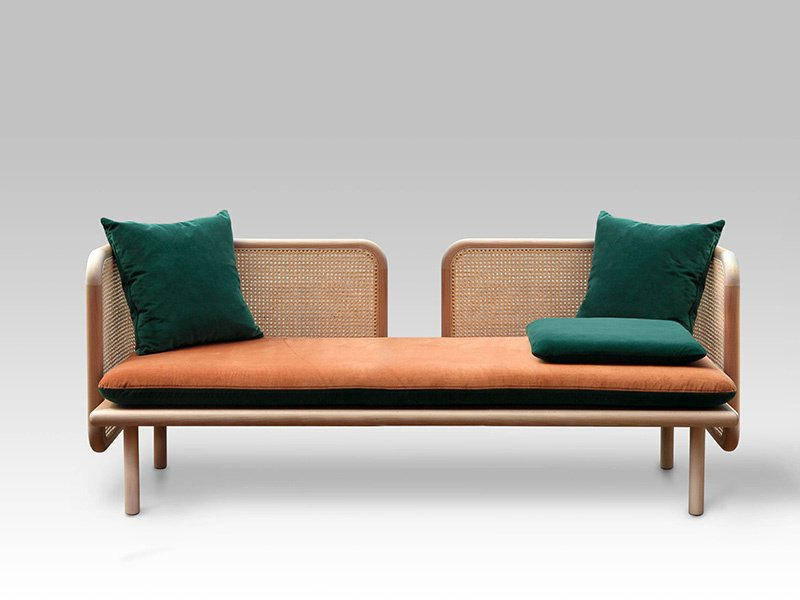 Studio Muar Diseño's Hum collection uses natural materials and traditional manufacturing techniques to create contemporary furniture.
