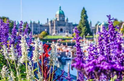 Explore the Gardens of Victoria, Canada