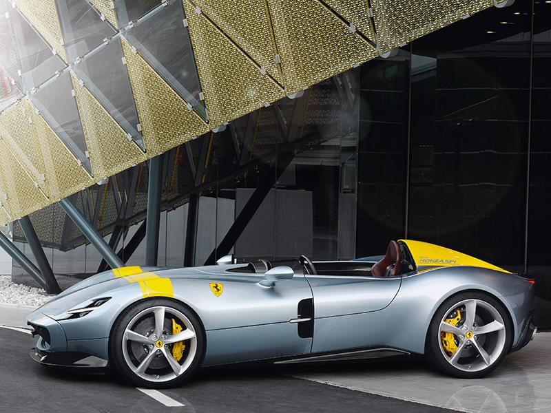 Ferrari Monza sp1 racing car