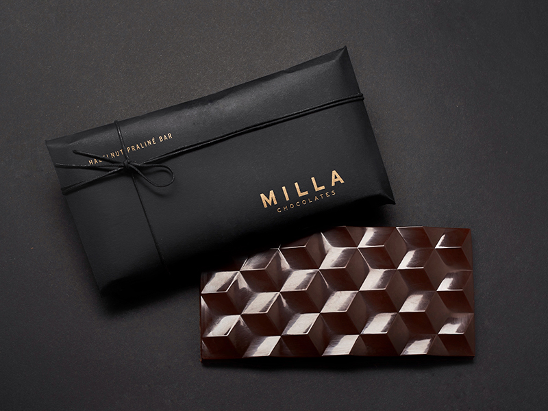 MIlla chocolates Hazelnut Praline Bar