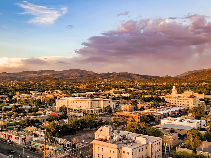 Santa-Fe-New-Mexico-houses