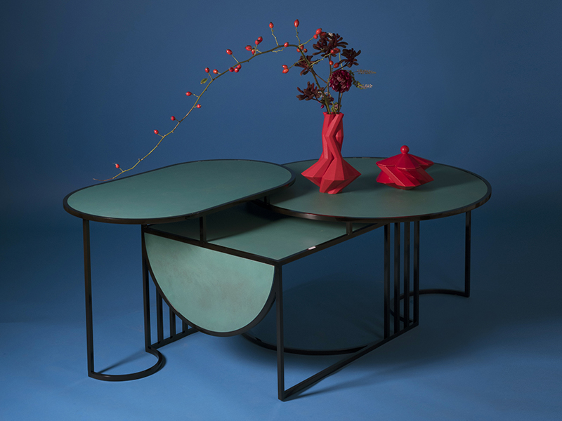 Orbit coffee table by Lara Bohinc