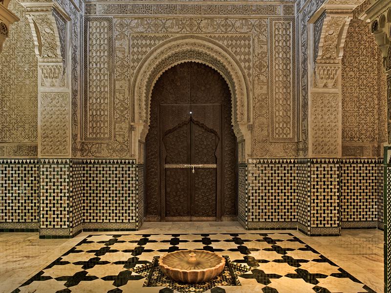 Marrakech property door design