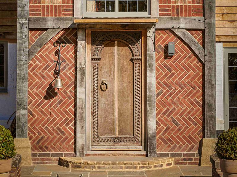 West Sussex front door house