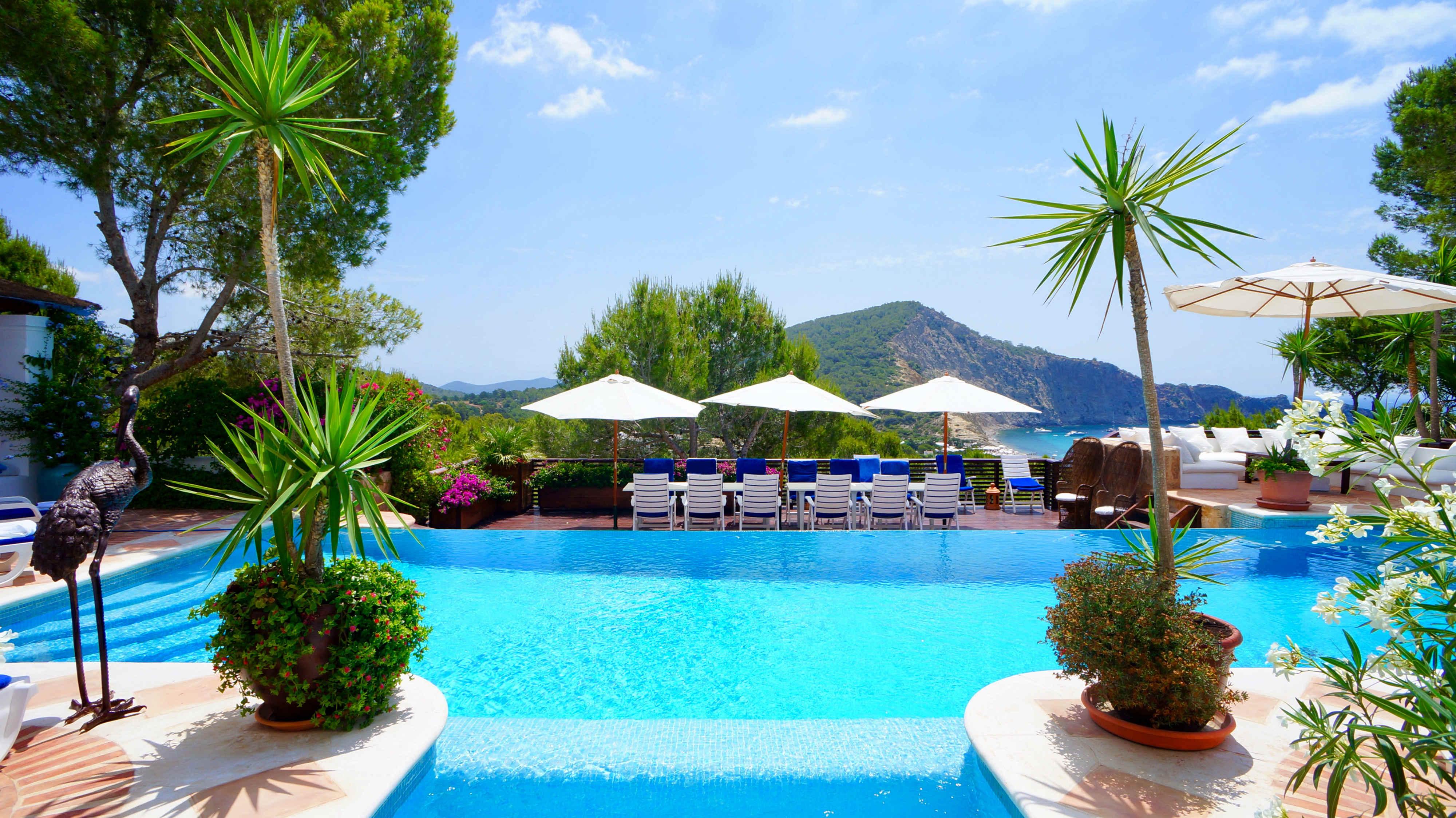 Ibiza Home Pool Mountain View
