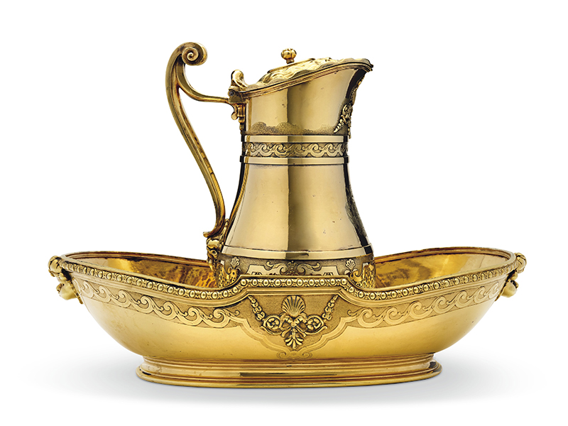 Gold basin in Christie's sale