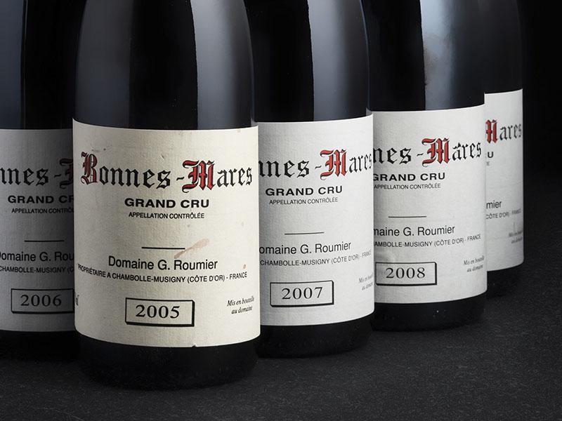 Bottles of Domaine Georges Roumier Bonnes-Mares