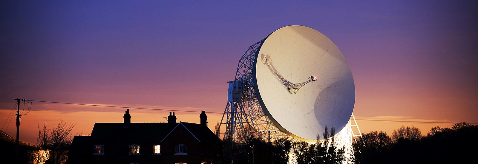 Lovell Telescope at Jodrell Bank Observatory