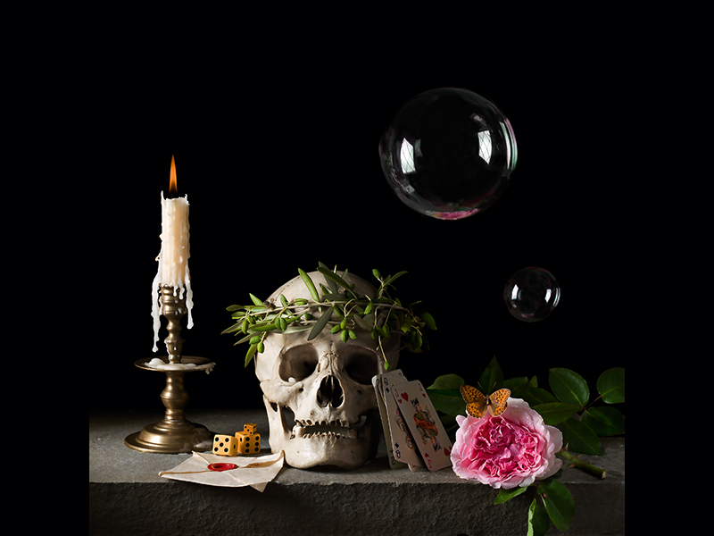 Vanitas-III-The Letter After PC by Paulette Tavormina